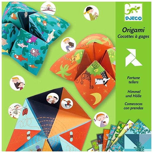 DJECO Origami Fortune Tellers Animal Paper