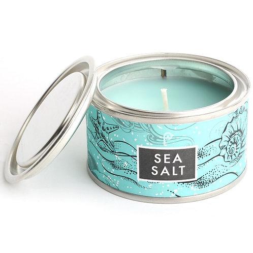Sea Salt Artisan Candle