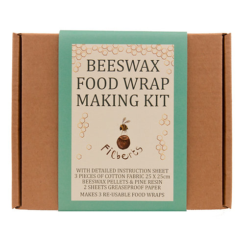 Beeswax Food Wrap Making Kit in a Tin
