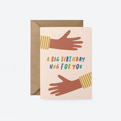 Big Birthday Hug For You