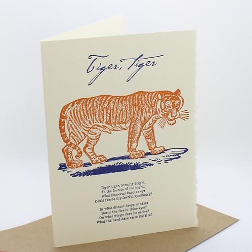 Tiger Tiger Card