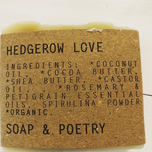Hedgerow Love Soap/Poetry
