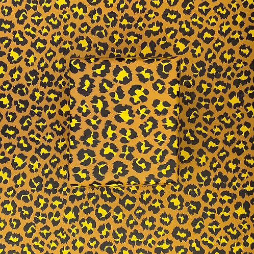 Wrapping Paper - Leopard - Mustard/Yellow