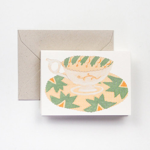 Cups and Saucers Card
