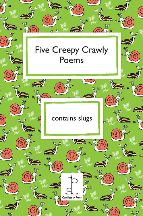 CreepyCrawly Poetry Pamphlet (Instead of a Card)