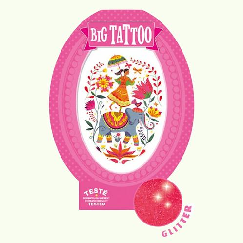 DJECO Big Temporary Tattoo - India