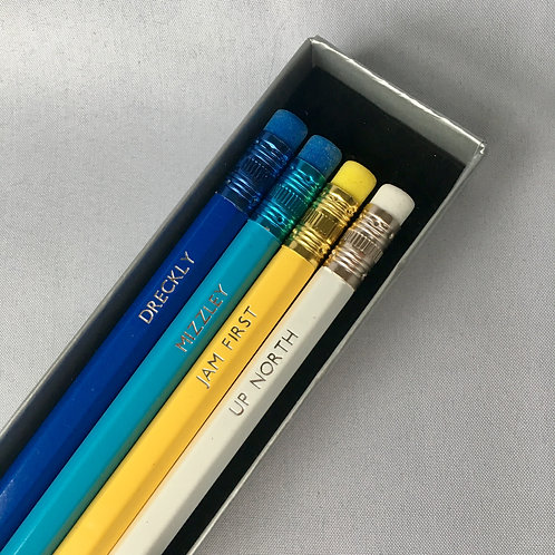 Cornish Sayings Pencil Box Set