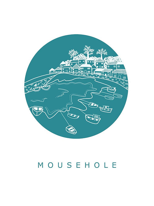 Mousehole Postcard
