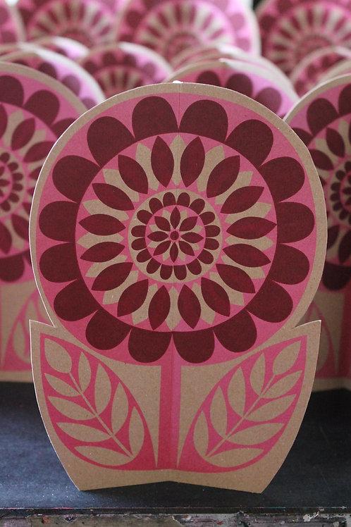 3D Flower Pink