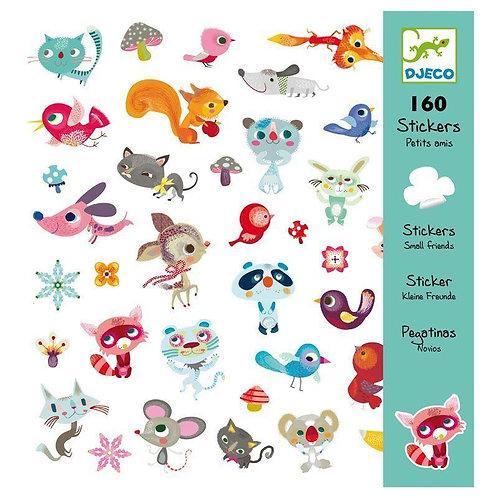 DJECO Sticker Set - Small Friends