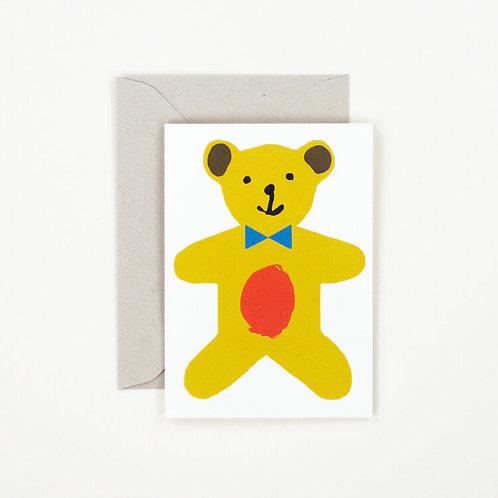 Little Teddy Bear Card