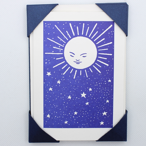 Moon and Stars Cards