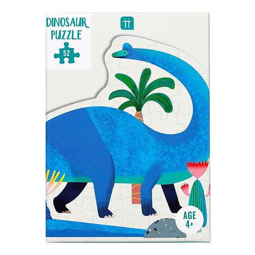 Party Dinosaur Brachiosaurus Shaped Puzzle 52 Pieces