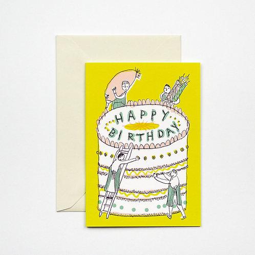 Massive Cake Card