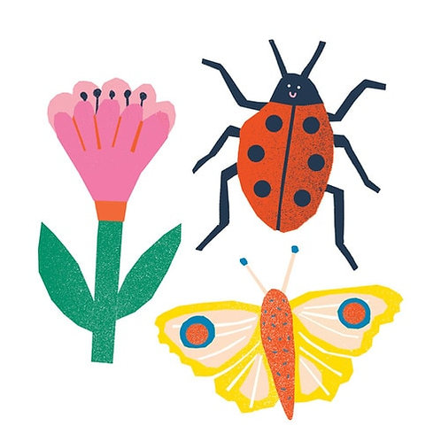 Bugs Vinyl Sticker Pack