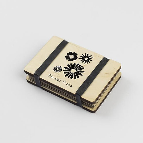 Pocket Flower Press - Flowers