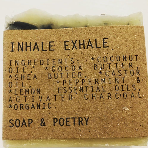 Inhale, Exhale Soap/Poetry