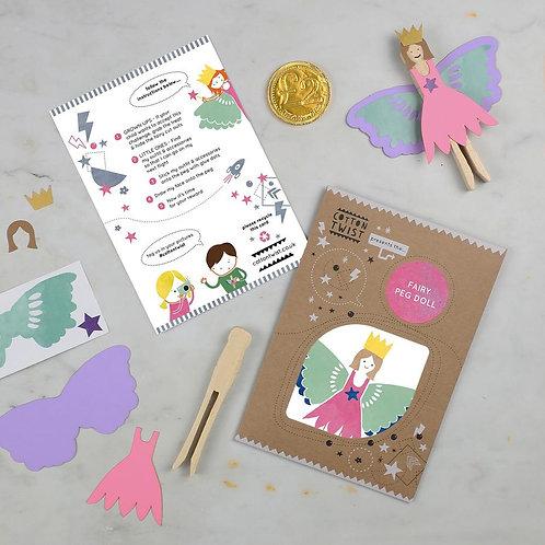 Fairy Doll Peg Doll Kit