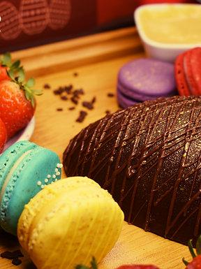 Bombom de Morango - Chocolate 63%