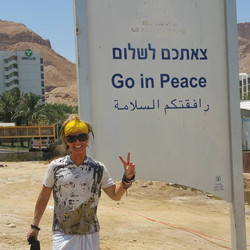 Peace Day, Israel.