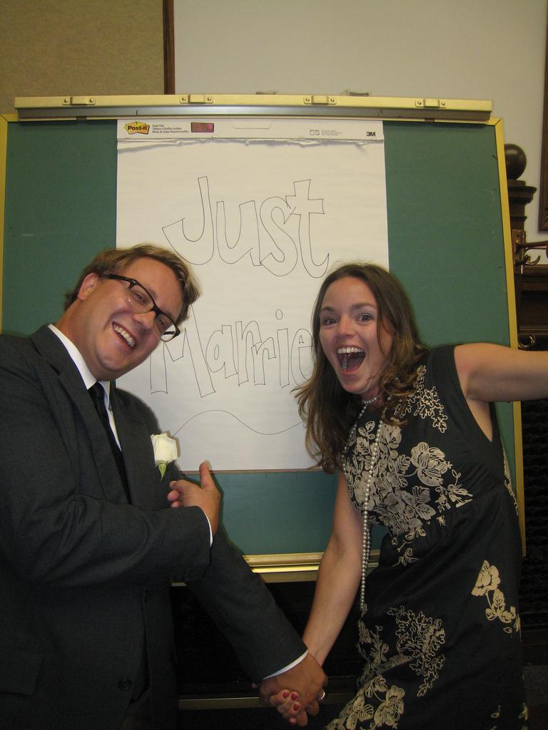 Just married Vorlage