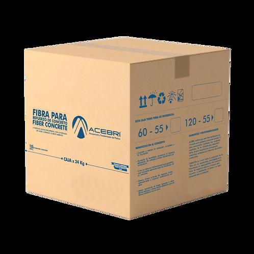 Caja x 24Kg FIBER CONCRETE ACEBRI (Con empaque No Soluble)