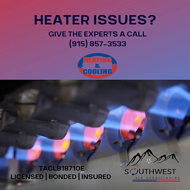 Heater Repair in El Paso, TX