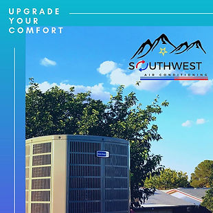 Call now for professional HVAC services including AC and heating repair in El Paso, Socorro, Horizon City, TX and surrounding areas. Southwest Air Conditioning has been providing quality HVAC services for El Paso since 1992. Heater Repairs, Heater Replacement, Refrigerated Air Conversions, Air Conditioning, Custom Duct Work.