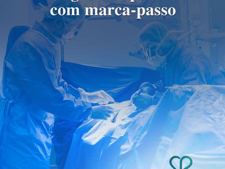 Cirurgias em pacientes com marca-passo