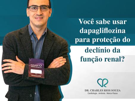 Você sabe usar dapagliflozina para proteção do declínio da função renal?