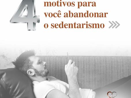 4 motivos para você abandonar o sedentarismo