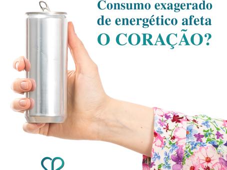 Consumo exagerado de energético afeta o coração?
