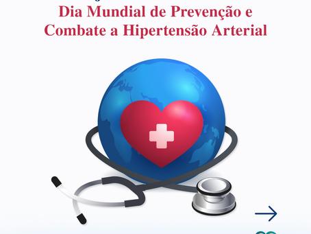 26/04 - Dia Mundial de Prevenção e Combate a Hipertensão Arterial