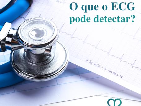 O que o ECG pode detectar?