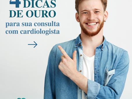 4 dicas de ouro para sua consulta com cardiologista
