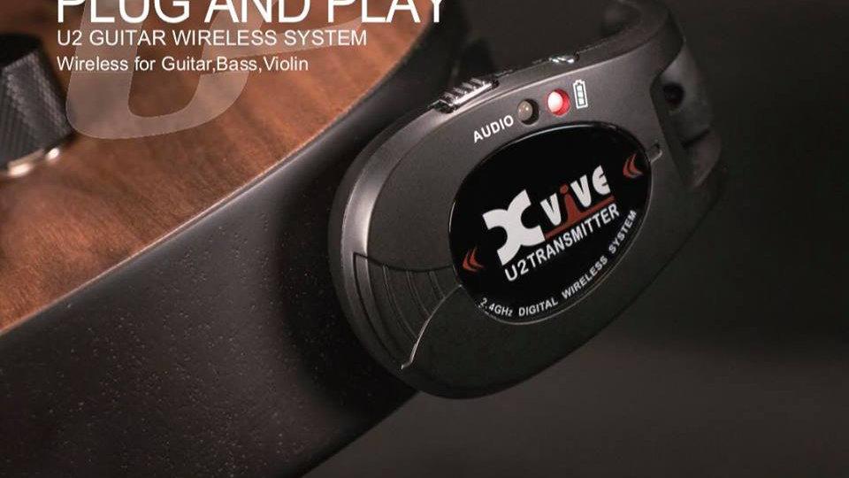 Xvive U2 guitar wirless system
