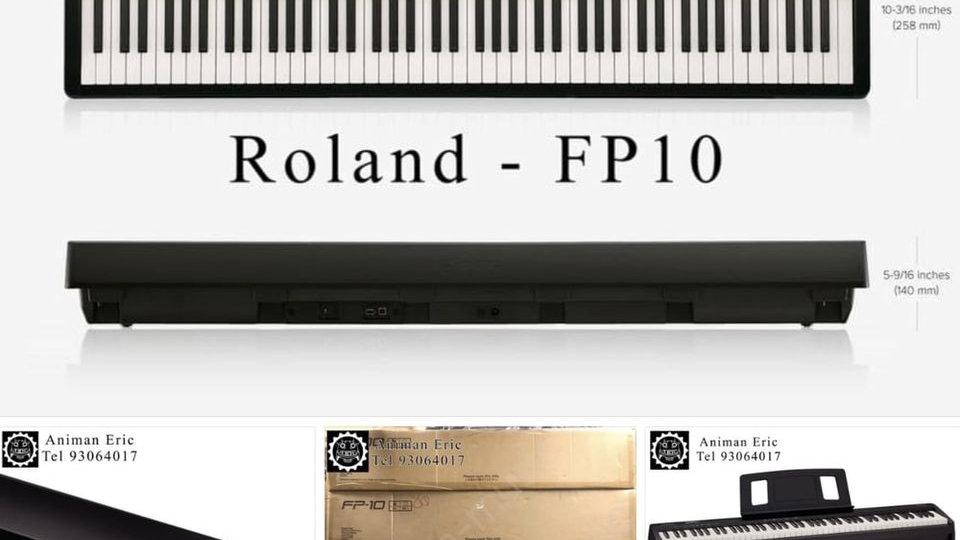 Roland FP10|單機 連火牛、譜架、PEDAL【代Call貨VAN送貨 運費到付】