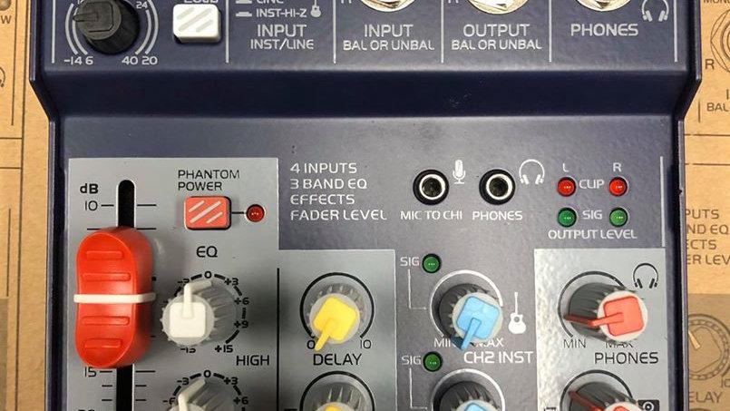 Interface +Mixer