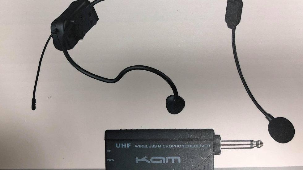 KAM UHF Headset Wireless Microphone