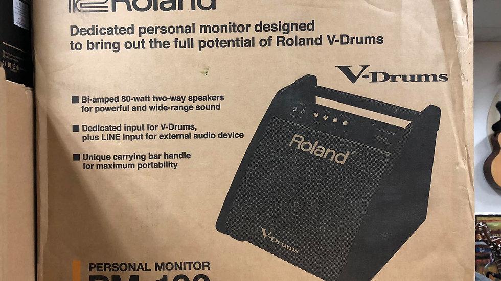 Roland Pm-100 Personal Monitor For V-drum|代Call貨VAN送貨 運費到付