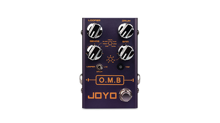JOYO R Series R-06 O.M.B(Looper+Drum Machine)