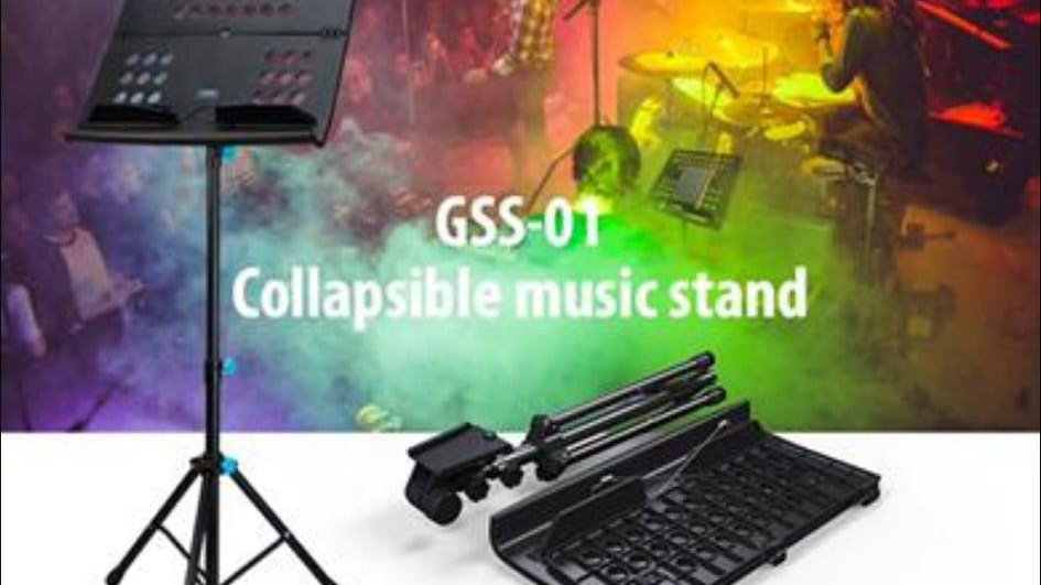 Joyo Gss-01 Collapsible Music Stand(可以摺有袋坐地式譜架)