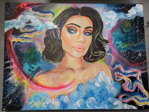 """Pure Creator"" 24"" x 18"" Acrylic Canvas"