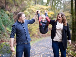 Lake Oswego Fall Family Session . Portland Oregon Family Photographer