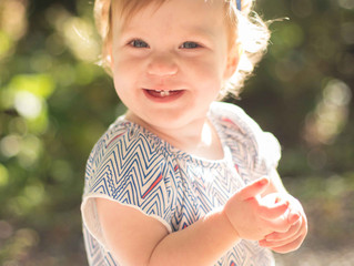 One Year Old Portraits and Outdoor Cake Smash (Part One: Portraits) . Mukilteo, WA