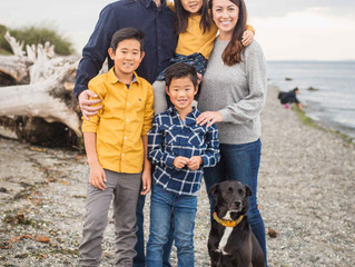 Seattle Family (Travel) Session at the Beach . Portland Oregon Family Photographer