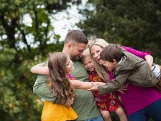 Champoeg State Park Fall Family Session . Portland Family Photographer