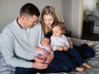In Home Newborn Session . Portland Newborn and Maternity Photographer