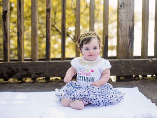 First Birthday Mini Session . Portland Oregon Child and Family Photographer