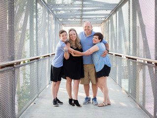 Family of Four Session: Summer Evening at the Beach . Mukilteo, WA